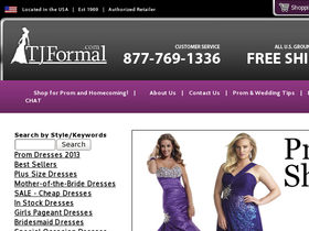 TJ Formal Coupons