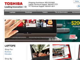 Toshiba Direct Coupons