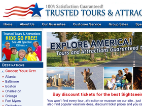 Trusted Tours and Attractions Coupons
