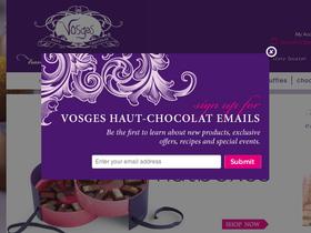 Vosges Haut-Chocolat Coupons