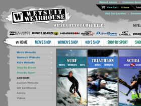 Wetsuit Wearhouse Coupons
