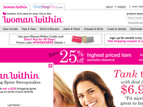 Woman Within Coupons