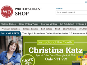 Writer's Digest Shop Coupons