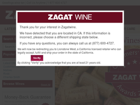 Zagat Wine Coupons