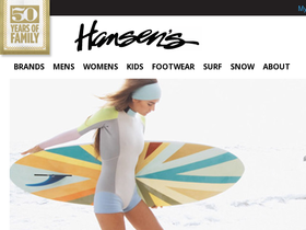 Hansen Surf Coupons