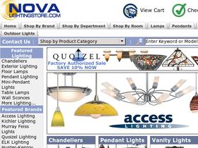Nova Lighting Store Coupons