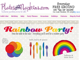 Plates & Napkins Coupons