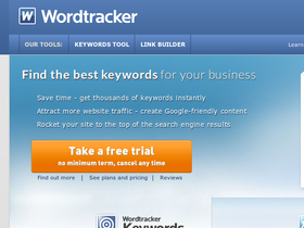 WordTracker Coupons