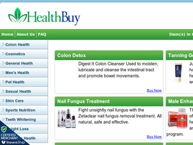 HealthBuy Coupons