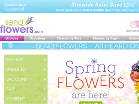 Send Flowers Coupons