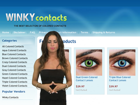 WinkyContacts Coupons