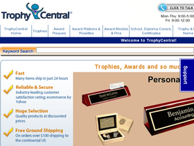 Trophy Central Coupons