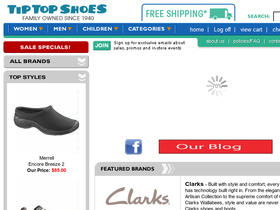 Tip Top Shoes Coupons