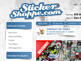 Sticker Shoppe Coupons