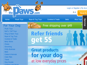 The Paws Coupons