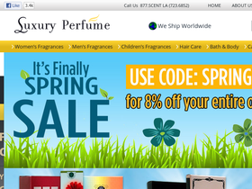 Luxury Perfume Coupons