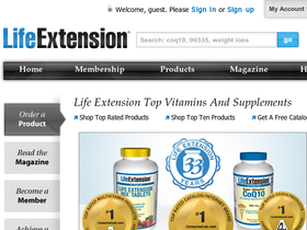 LifeExtension.com Coupons
