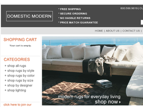 Domestic Modern Coupons