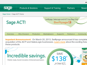Sage ACT! Software Coupons