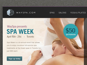 WaySpa Coupons