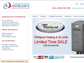 Ingram's Water & Air Coupons