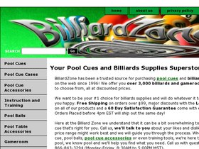 Billiard Zone Coupons