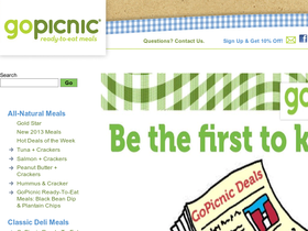 GoPicnic Coupons