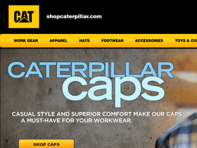 Caterpillar CAT Shop Coupons