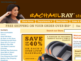 Rachael Ray Store Coupons