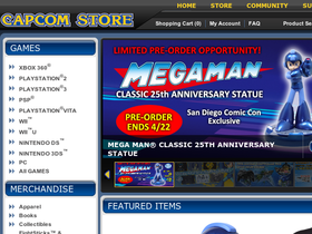 Capcom Store Coupons