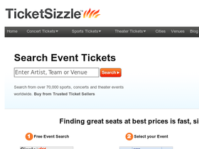 TicketSizzle Coupons