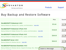 Novastor Backup Software Coupons