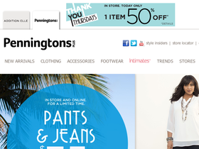 Penningtons Plus Coupons