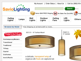 Savio Lighting Coupons
