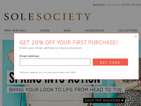 Sole Society Coupons