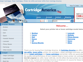 Cartridge America Coupons