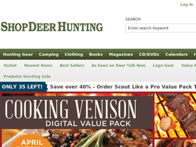 Shop Deer Hunting Coupons