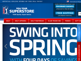 PGA Tour Shop Coupons