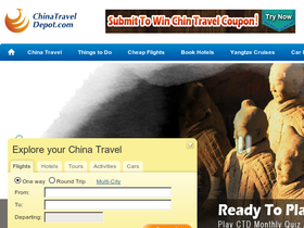 China Travel Depot Coupons