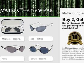 Matrix Eyewear Coupons