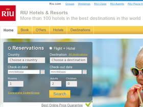 Riu Hotels Coupons