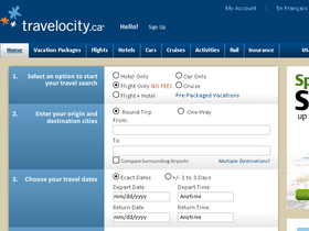 Travelocity Canada Coupons