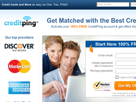 CreditPing Coupons