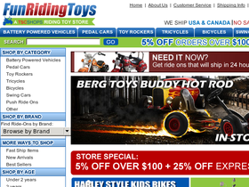 Fun Riding Toys Coupons