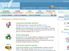 WebVitamins Coupons