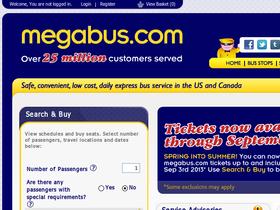 Megabus Promo Code & Coupons