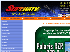 Super ATV Coupons