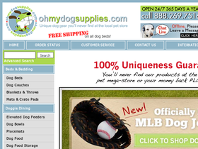 Oh My Dog Supplies Coupons