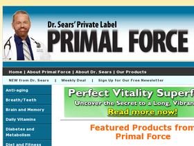 Primal Force Coupons