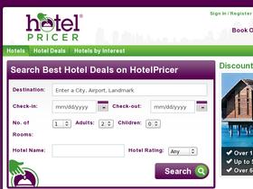 HotelPricer Coupons